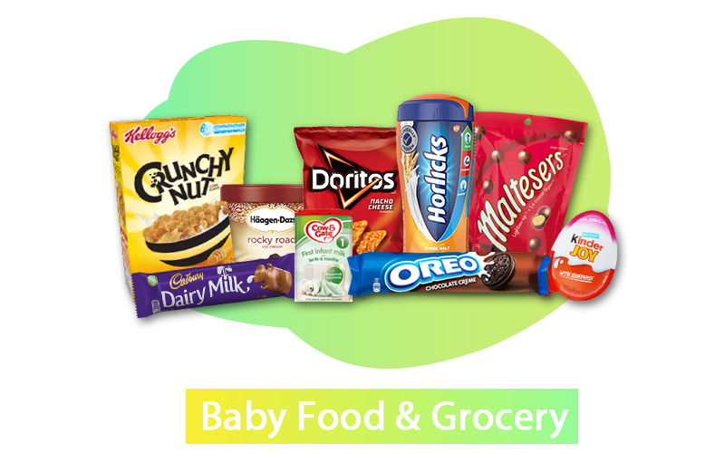 FNCG Baby Food and Grocery Bulk Supplier